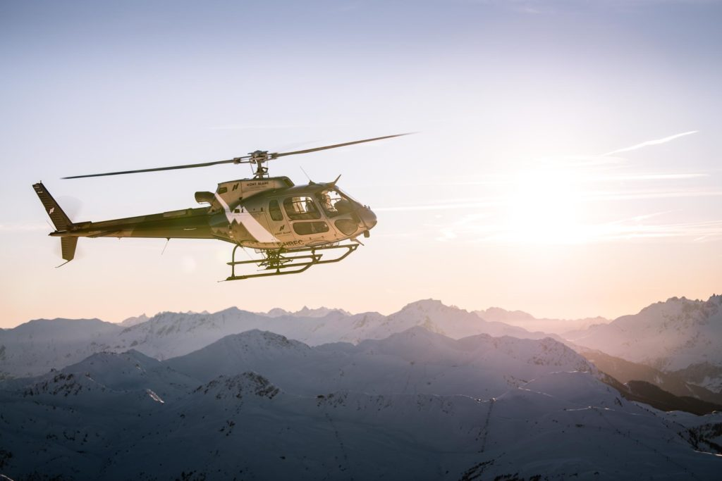 Initiation flights - Airbus AS350 - Mont Blanc Hélicoptères Megève