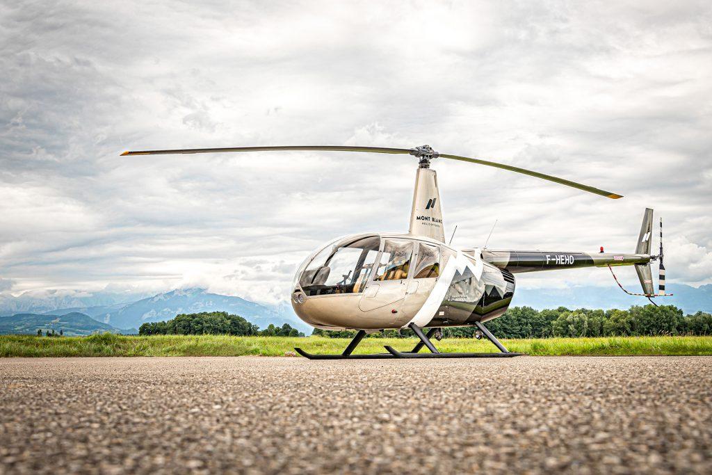 Initiation & école de pilotage - Vol d'initiation au pilotage - Mont Blanc Hélicoptères Megève