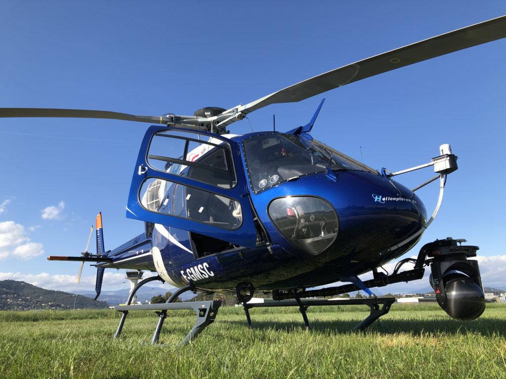 Travail aerien - Prise de vue aerienne - Mont Blanc Hélicoptères Megève
