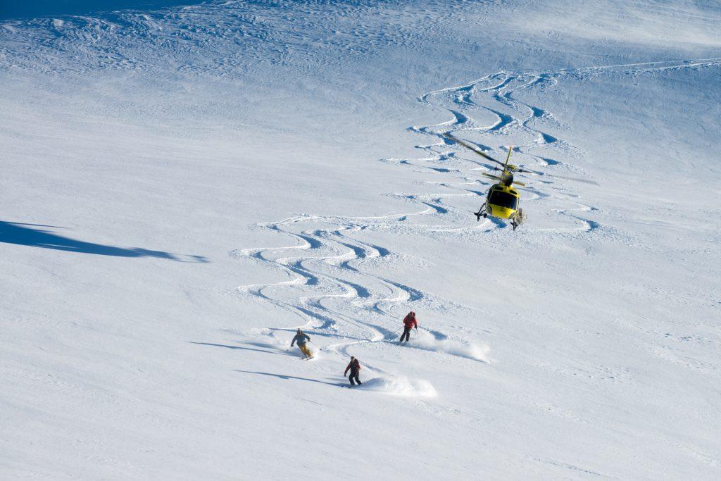 Flights Experiences - Heliskiing - Mont Blanc Hélicoptères Megève