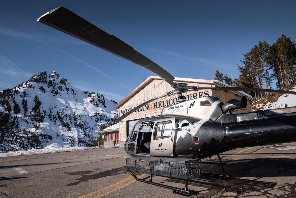 Helicopters - AS350 - Mont Blanc Hélicoptères Megève