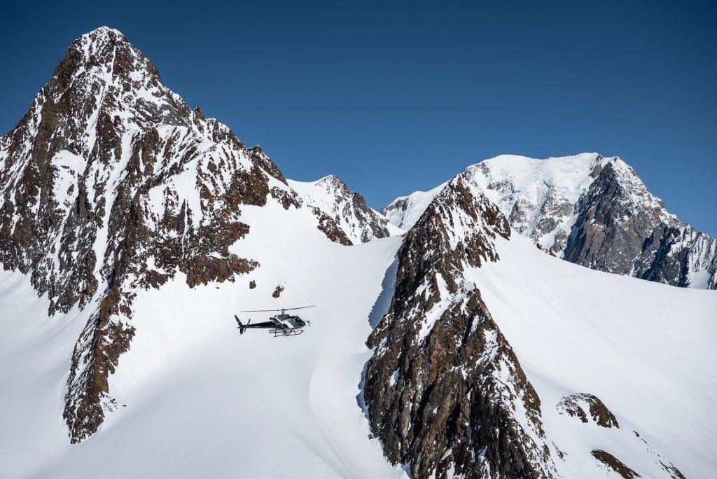 Tourist flights - Flight over Mont Blanc 20min - Mont Blanc Hélicoptères Megève