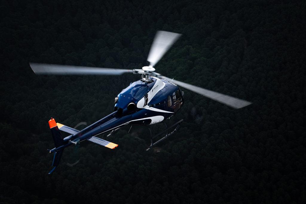 Travail aerien - Surveillance aerienne - Mont Blanc Hélicoptères Megève